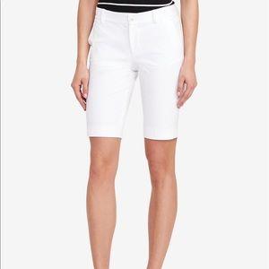 Lauren Ralph Lauren White Bermuda Shirts size 2